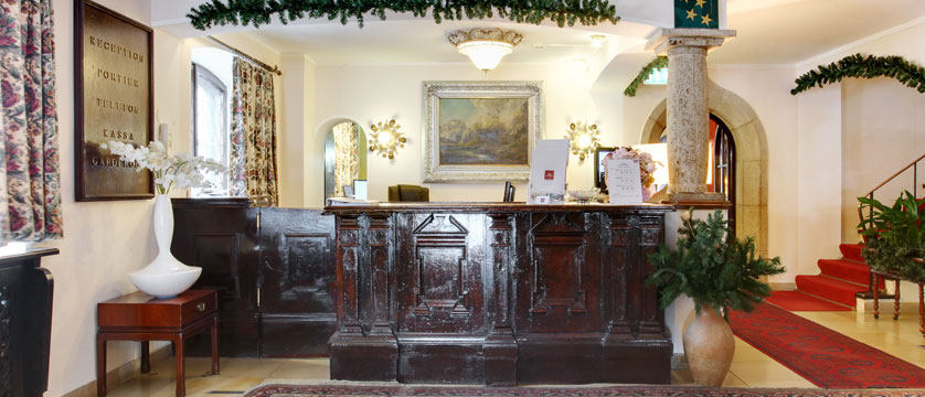 Hotel Tyrol & Alpenhof, Seefeld, Austria - Lobby & reception.jpg